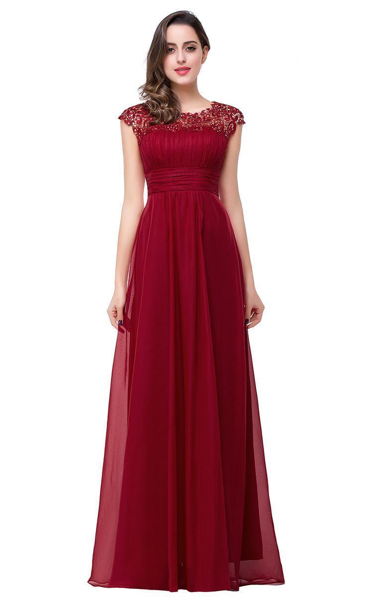 Robes dentelle rouge pas cher