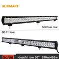 """Auxmart 36 """"Dual/Tri Row LED light bar combo feixe Offroad luzes de Trabalho SUV RZV ATV 4X4 4WD campista do reboque do caminhão 12 v 24 v LEVOU Bar"""