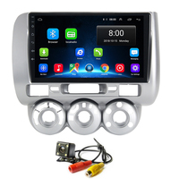 Android 8.1 for Honda Fit Jazz 2002 2008 Stereo Multimedia Player Video with Bluetooth Wifi Head Unit Touch Navigation