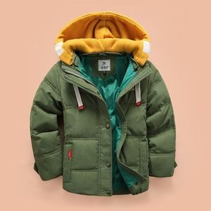 Image 3 - Abreeze เด็ก Down & Parkas 4 10T ฤดูหนาวเด็ก outerwear เด็กสบายๆเสื้อแจ็คเก็ตสำหรับ Boys ชายเสื้อโค้ท