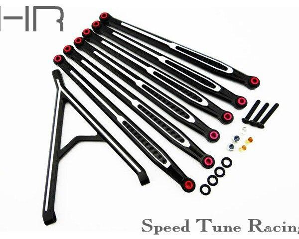 aluminum link set for 12.3 (313mm) wheelbase Axial SCX10