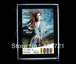 Super cienki akrylowy kryształowy schowek na monitor reklamowy