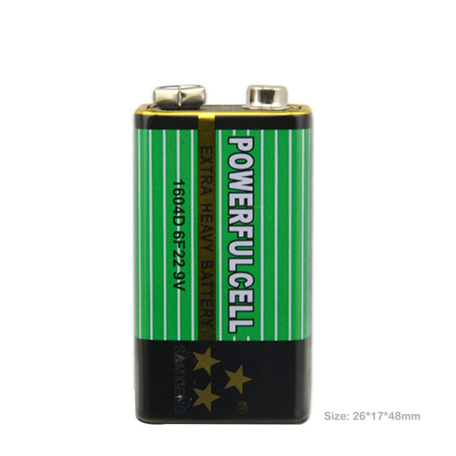 New 10x6F22 PPP3 6lr61 9V battery Super Heavy Duty Dry Batteries Non Rechargeable For Radio,Camera,Toys etc