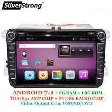 SilverStrong 7.1 Android DVD for Volkswagen PASSAT B6 B5 GOLF6 JETTA POLO CC TIGUAN OCTAVIA2 DVD GPS 801T3