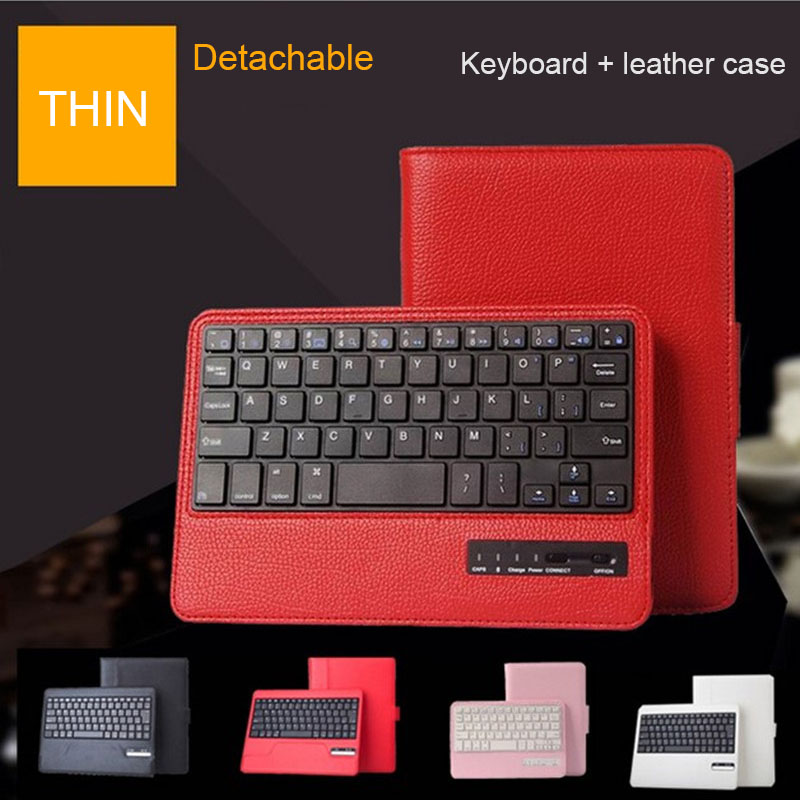 RYKKZ for Ipad Air 2 Case With Bluetooth Keyboard Leather Cover for Ipad pro 9.7inch Business Style Protective Case