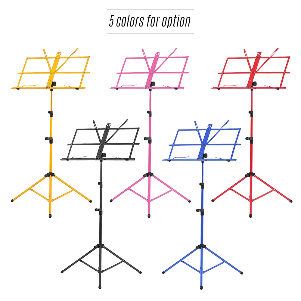 Foldable Sheet Music Tripod Stand Holder Lightweight With Water Piano Parts Diagram Resistant Carry Bag For Violin