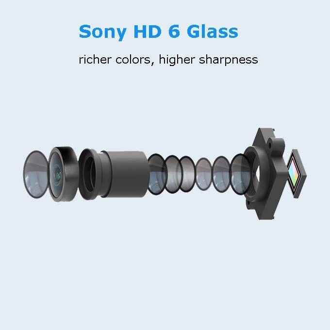 6 Glass Lens