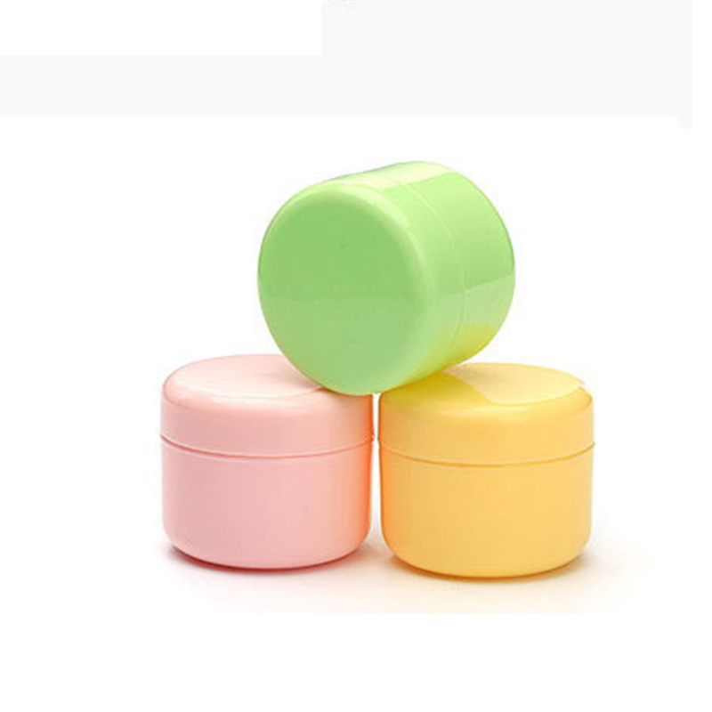 10g/20g/50/100g Refillable Bottles Plastic Empty Makeup Jar Pot Travel Face Cream/Lotion/Cosmetic Container P3 10pcs 5g cosmetic empty jar pot eyeshadow makeup face cream container bottle acrylic for creams skin care products makeup tool