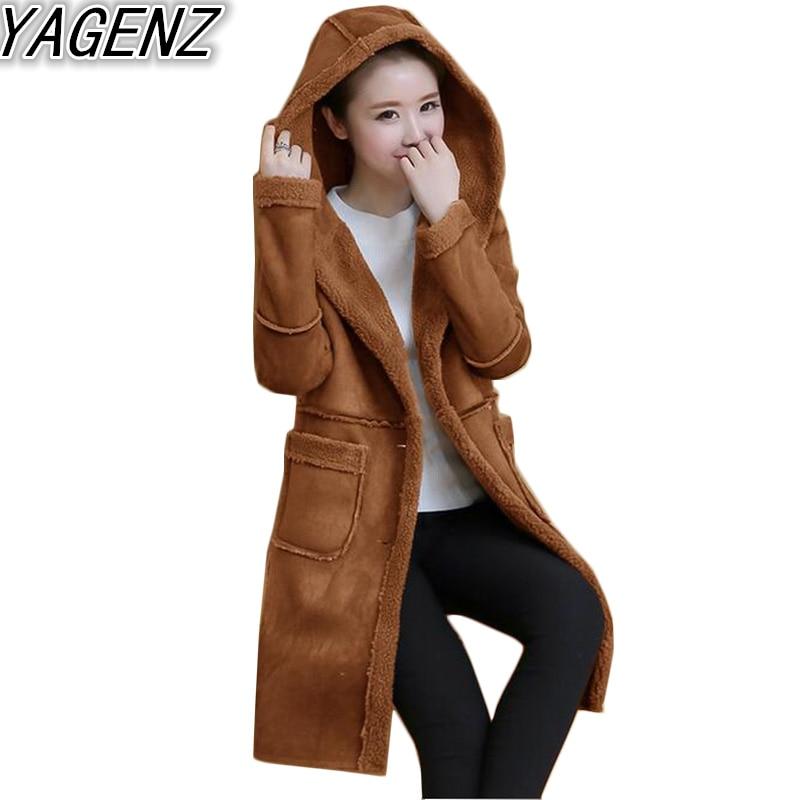 women 39 s suede hooded jacket 2017 fashion winter women. Black Bedroom Furniture Sets. Home Design Ideas