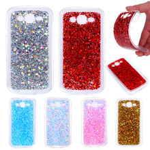 For Samsung Grand Neo I9060 Case Colored Shiny Glitter Silicone TPU Back Cover Case for Samsung Galaxy Grand Duos i9082 I9080 kalaideng protective pu leather case cover stand for samsung galaxy grand neo i9060 golden