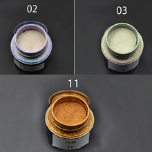 3D Nail Art Fashion Metallic Effect Mirror Powder Chrome Pigment Nail Glitter 2016 China Hot Sale Magic Glimmer Powder