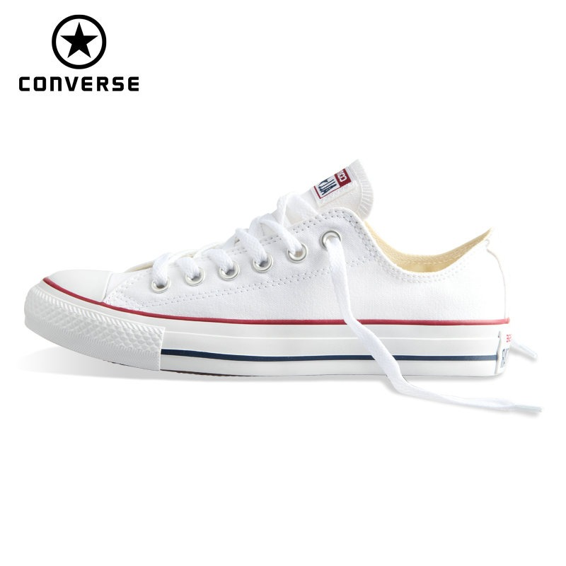hot sale online c705d 848f4 New Original Converse all star canvas shoes men s and women s sneakers low  classic Skateboarding Shoes