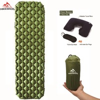 HIKEBROS Amazon Hot Sales TPU Inflatable Mattress 1 Persom Ultralight Portable Green Sleeping Pad