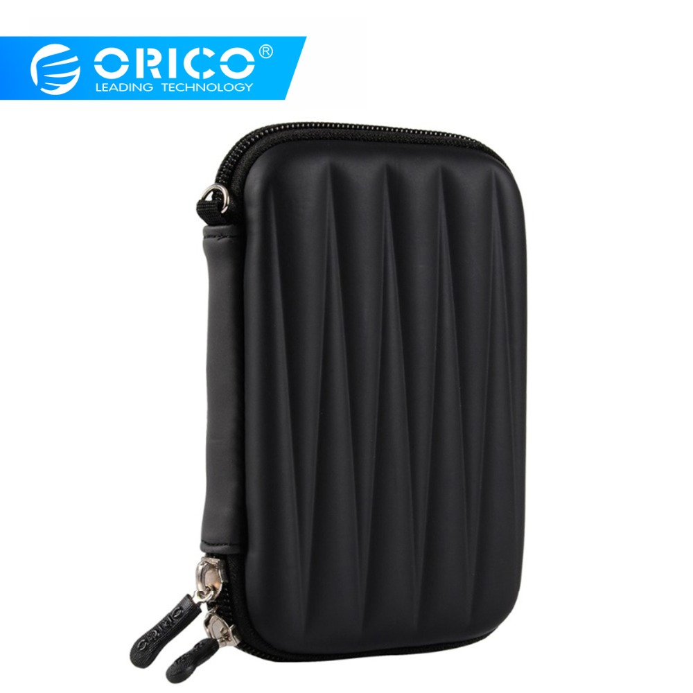 ORICO 2.5 Inch HDD Protection Bag EVA External Storage Hard Case HDD SSD Bag For Power Bank USB Cable Charger Power Bank Case
