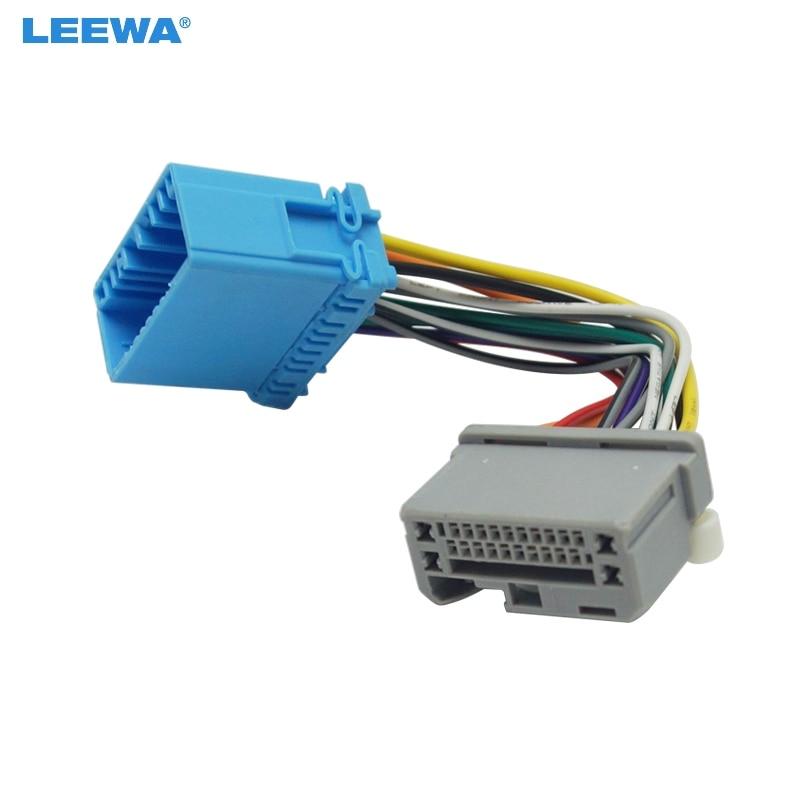 honda fit wire harness leewa 5pcs car stereo audio wire cable adapter for honda fit  leewa 5pcs car stereo audio wire cable