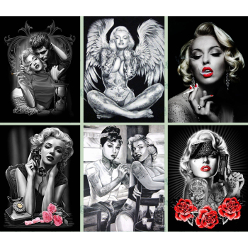 Broderie Diamant Marilyn Monroe mosaique