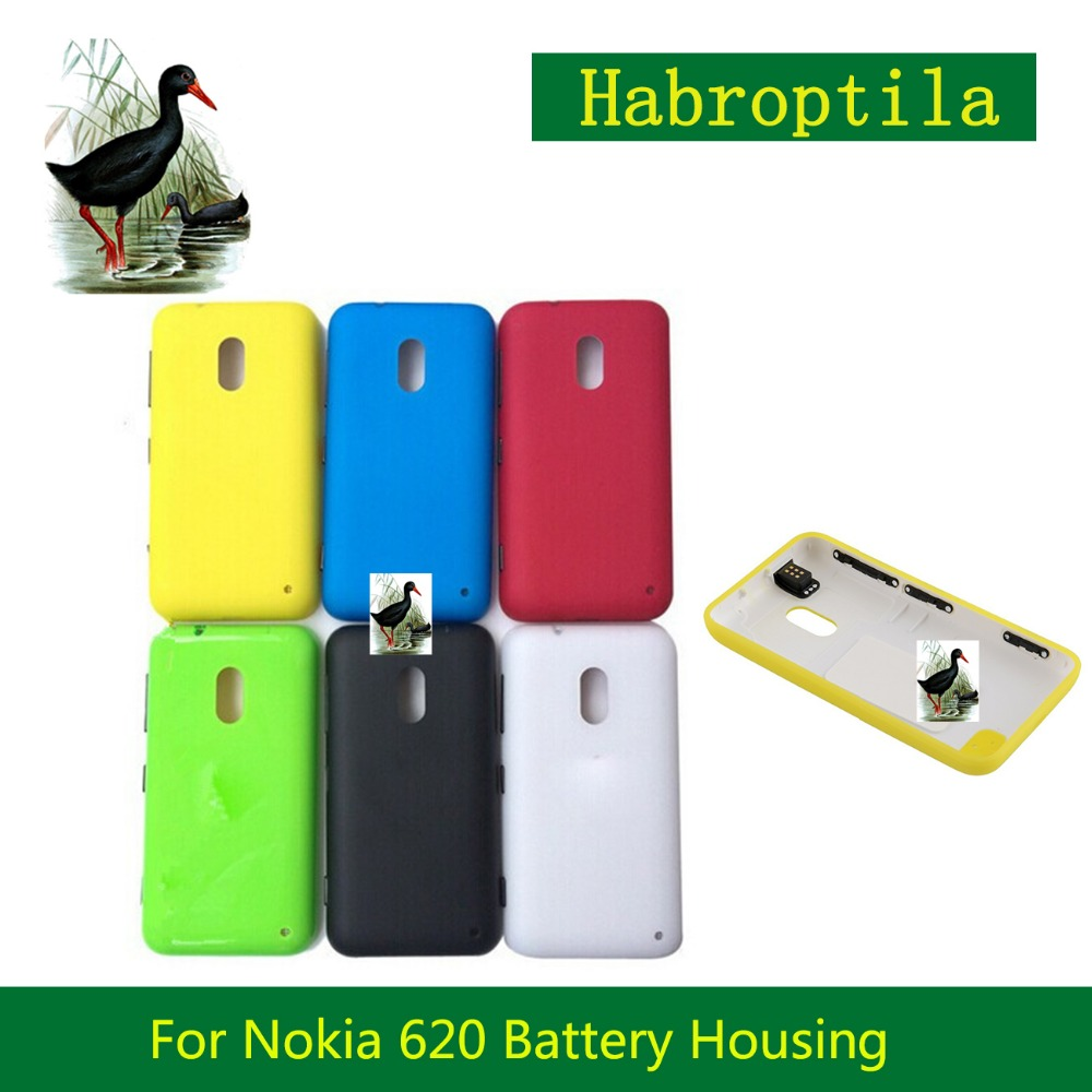 For Nokia Lumia 620 N620 Cover Housing Battery Cover Door Rear Cover Chassis Back Cover Case Housing Replacement