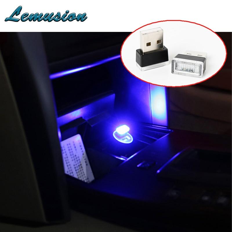 1pc car usb atmosphere led lamp for fiat 500 punto acura. Black Bedroom Furniture Sets. Home Design Ideas