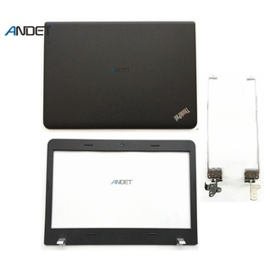 Nuevo Original para Lenovo ThinkPad Edge E460 E465 E450 Laptop Lcd cubierta posterior tapa trasera cubierta superior bisel frontal bisagra de aluminio plástico