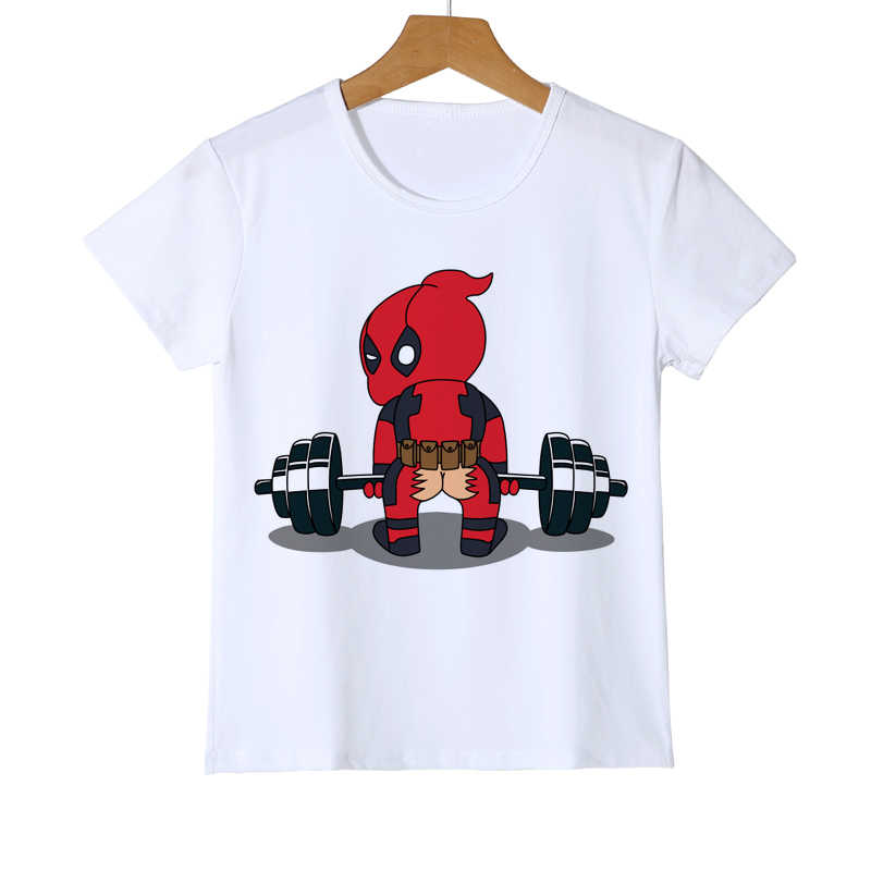 e940d4c2287 Detail Feedback Questions about Summer Kid s Deadpool weightlifting ...