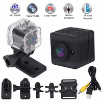 Mayitr 방수 SQ12 미니 카메라 HD 1080 마력 광각 SQ 12 미니 캠코더 DVR SQ12 스포츠 비디오 카메라 키트