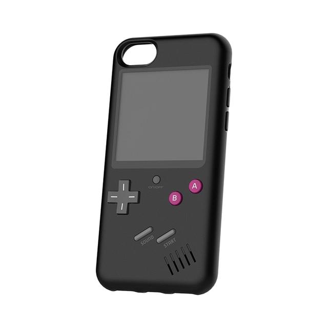 للعب تتريس حالة الرجعية لعبة TPU واقية الأصلي الهاتف المحمول لعبة حالة