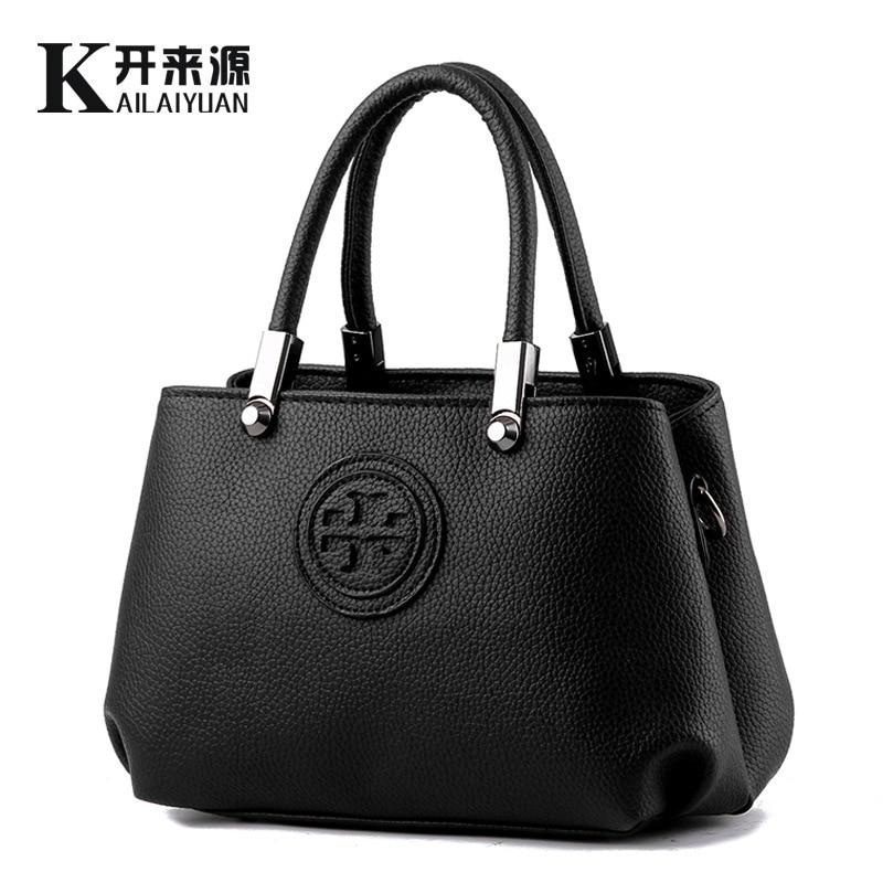 100% Genuine leather Women handbags 2016 new fashionista ...