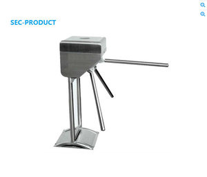 Electronic Automatic Vetical Tripod Turnstile With Interface RS485 For Door Access Control