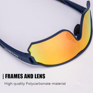 Image 3 - ROCKBROS 사이클링 편광 된 스포츠 안경 자전거 100% UV400 충격 저항 렌즈 선글라스 남자 여자 등반 Glasse 실행