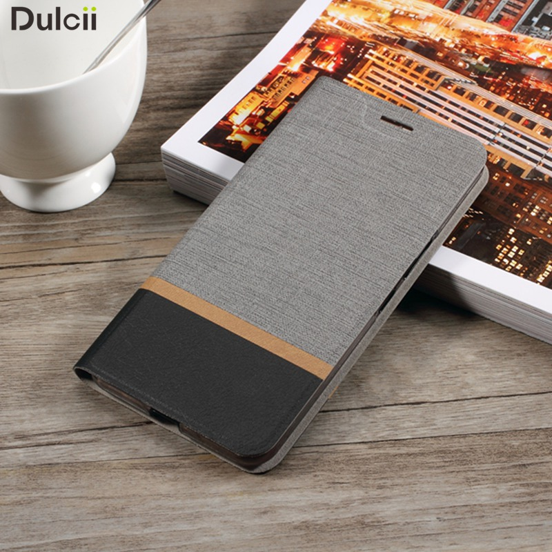Dulcii for Asus Zenfone 3 s Max Bag Cross Texture Leather Stand Card Holder Phone Case for Asus Zenfone 3s Max ZC521TL Case
