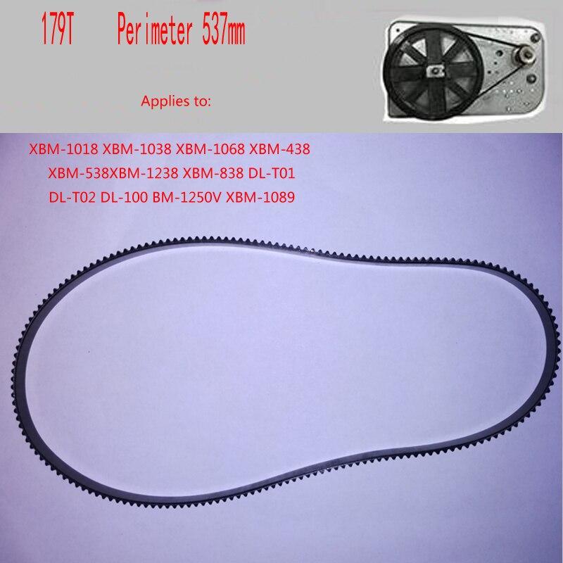 все цены на 2 pcs/lot Bread Maker Parts 179T Perimeter 537mm Breadmaker Conveyor Belts Kitchen Appliance Parts онлайн