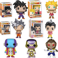 Funko pop Giapponese Anime Dragon Ball Vegeta Goku Golden Freezer Zen Del Vinile Action Figure Collection Modello giocattoli Regalo per i bambini(China)