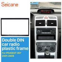 Seicane 2 Din 178*102 millimetri Auto Radio Fascia per il 2001-2008 PEUGEOT 307 Dash Kit di Montaggio Adattatore CD Trim Pannello di Auto Audio Stereo Cornice