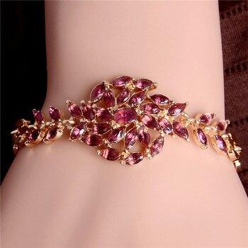 Women's Fashion Colorful Bracelets Bracelets Jewelry New Arrivals Women Jewelry Metal Color: H001