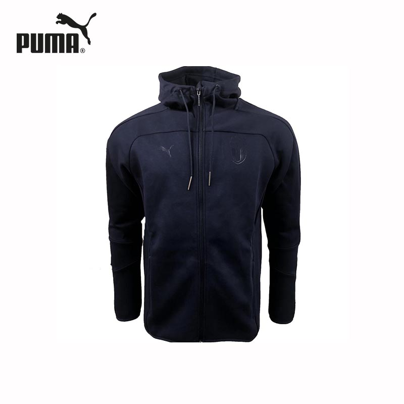 Male Hoody PUMA 75260510 sports and entertainment for men original new arrival 2018 puma pace primary fz hoody men s jacket sportswear