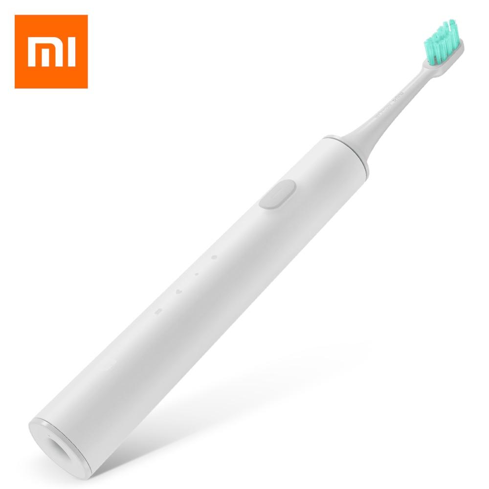Acheter Xiaomi Mi Maison Rechargeable Étanche Sonic Électrique Brosse À Dents APP Contrôle Avec Dupont Poils de sonic electric toothbrush fiable fournisseurs