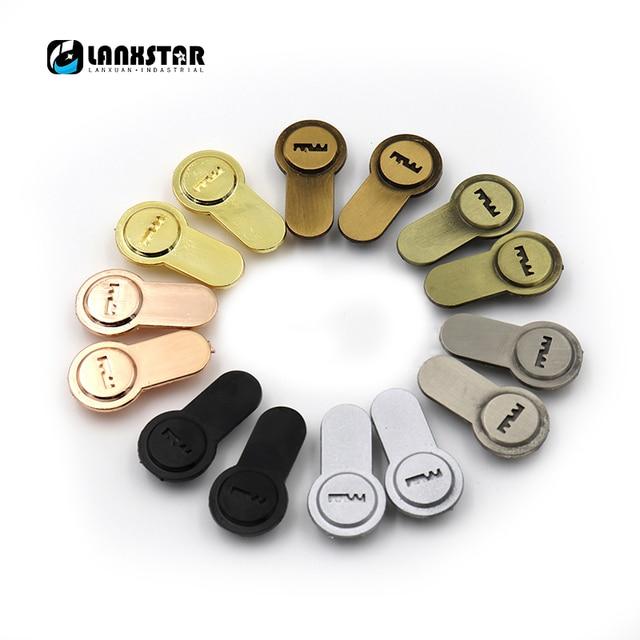Utility Model Relates Dummy Lock Hole Block 2PC Lockcore Cover Plates False  Lockset Door Lock Fitting
