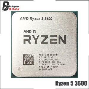 Image 1 - AMD Ryzen 5 3600 3600 GHz, Six Core à douze fils 3.6 7NM, 65W L3 = 32M, prise processeur dunité centrale 100 AM4, R5 000000031