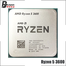 CPU Processor R5 Amd Ryzen AM4 Six-Core 3600-3.6 Twelve-Thread Ghz 7NM 65W L3--32m 100-000000031-Socket