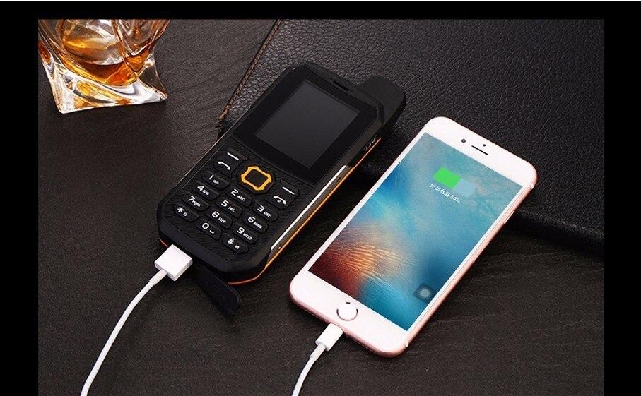 Dual IP67 Ponsel Dollar 7