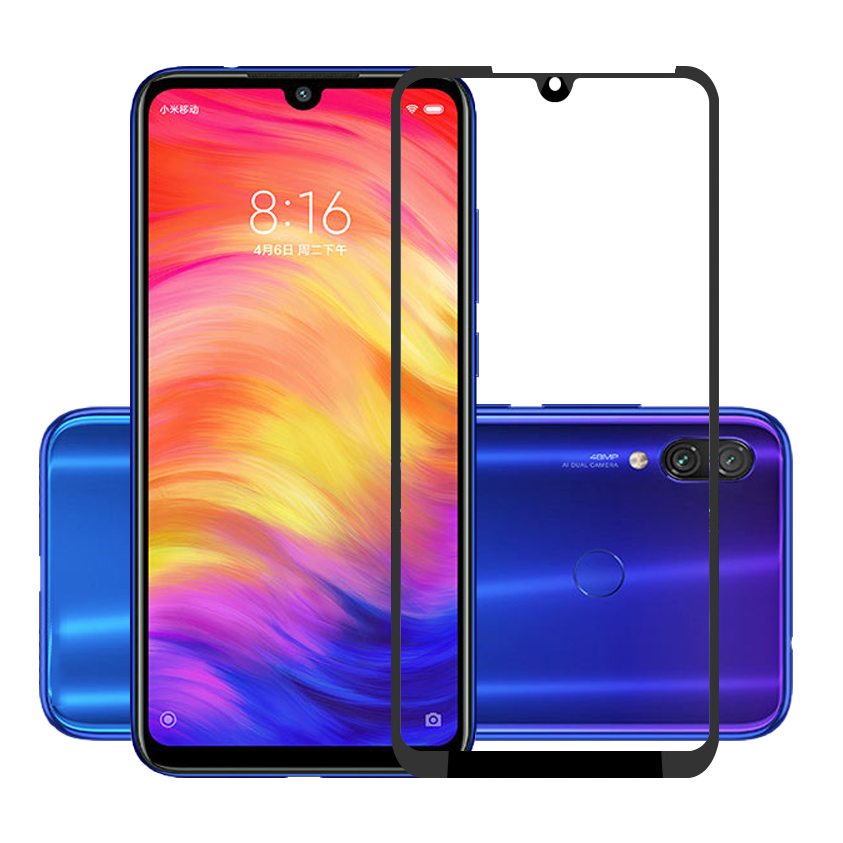 25 Pcs/Lot Full Screen Protector For Xiaomi Redmi Note 7 Pro Scratch Proof Protective Film Tempered Glass For Redmi Note 7 7S redmi note 7 pro cover