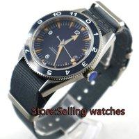41 мм debert синий циферблат сапфировое стекло Miyota автоматические хронометр мужские часы D1