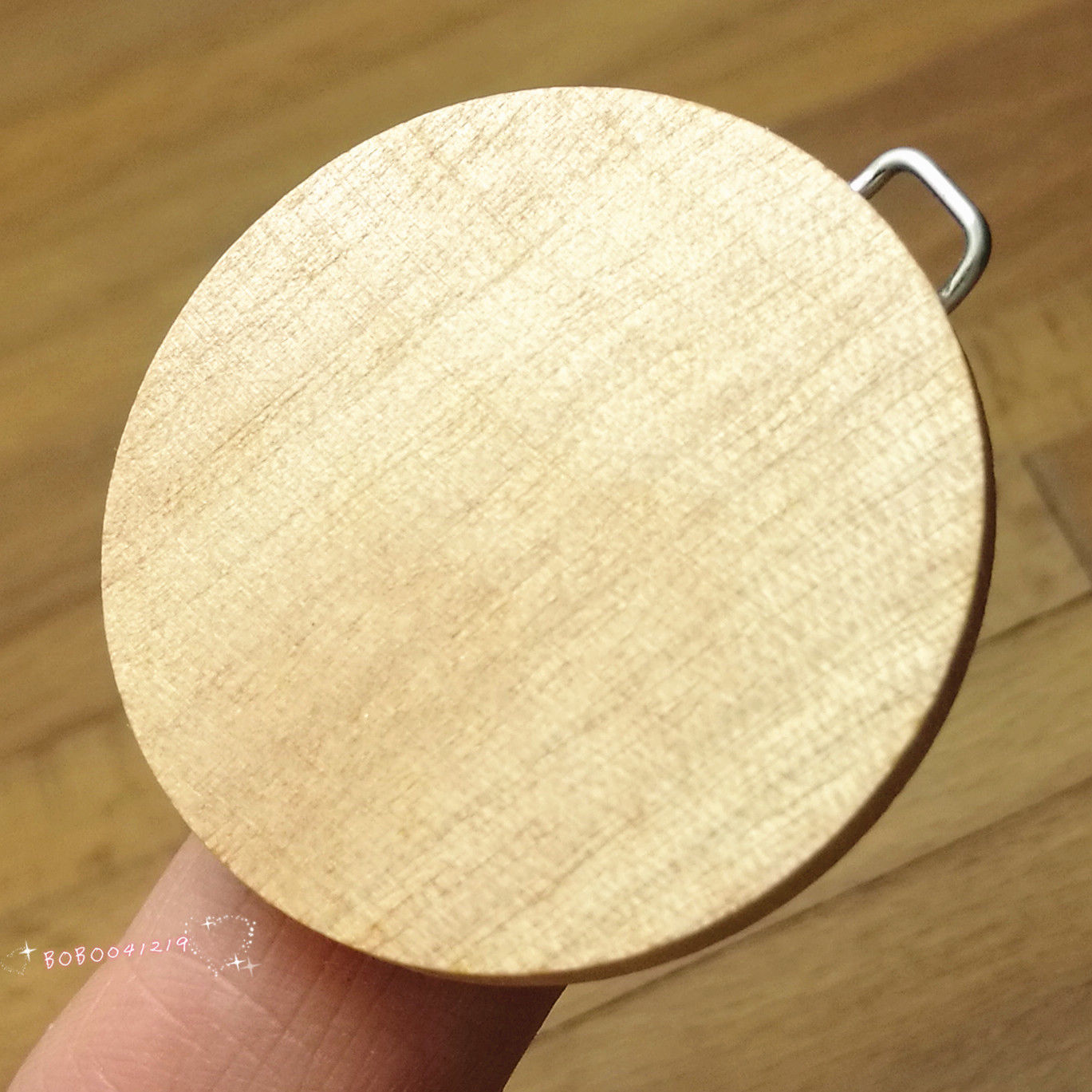 Dollhouse Miniature 1:12 Toy Kitchen A Wooden Round Chopping Board SPO626