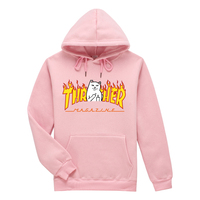 2017 New Trasher Hoodies Men Women Fashion Printing 100 Cotton 1 1 Casual Sweatshirts Summer Skateboard