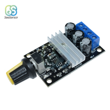 DC 6-28V 6V 12V 24V 28V 3A 80W PWM Motor Speed Controller Regulator Adjustable Variable Control With Potentiometer Switch