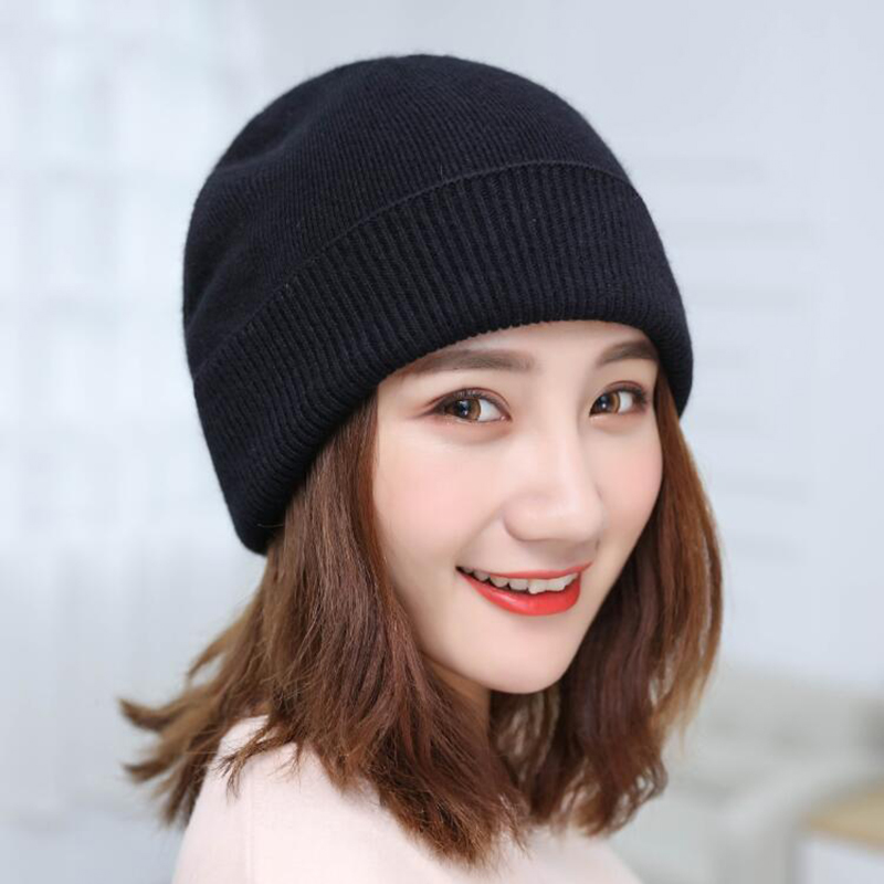 Winter hats for men knitted hat boy beanies cap skullies women solid beanie wool warm bonnet enfant casual caps gorro bone 2017 brand beanies knit men winter hat for men skullies caps boy winter hats beanie wool warm bonnet gorro baggy cap bone