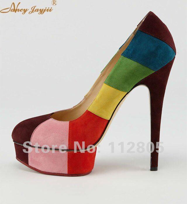 ty02 Femme Robe Véritable 12 Tourné En Haute 45 Partie 42 Super Fleur Mince Pompes Chaussures sur Toe Cuir Flanelle Taille Peep Ty01 Talons Dames 0w8NOmvn