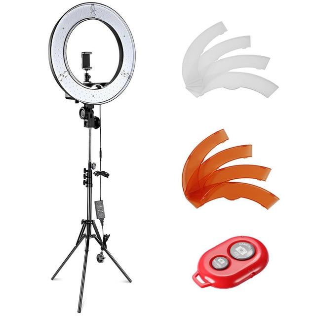 Neewer Camera Photo Video Light Kit 55W 5500K Dim LED Ring Light Stand for  Smartphone Youtube Vine Self-Portrait Video Shooting 147d52c4e