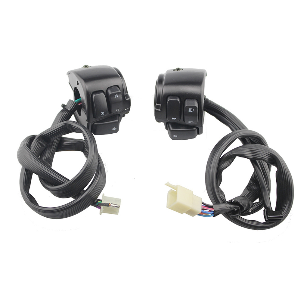 Motorcycle Universal 25mm 1 Handlebar Switch Control Horn Headlight Turn Singal Light On Off Switch for