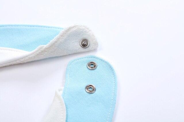 Babadores babador bavoir babadores baberos moda babadores babadores algodão azul impressão listra material do bebê recém-nascido arroto panos à prova dwaterproof água